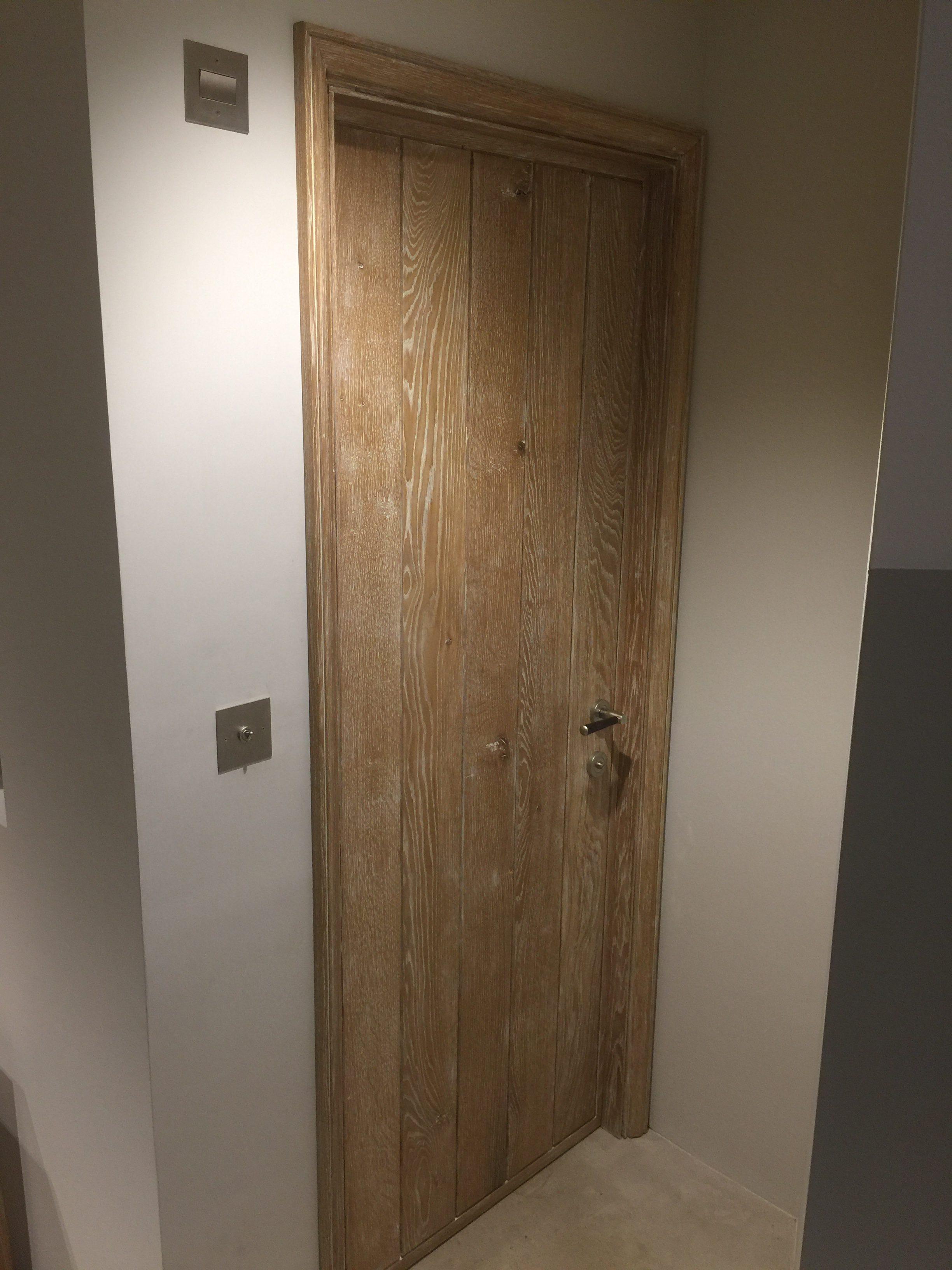 Cm Limed Oak Kitchen Door